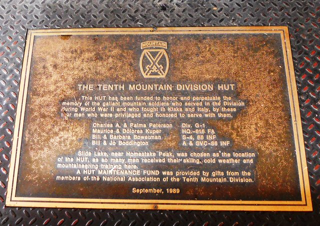 10th Mountain Division Hut