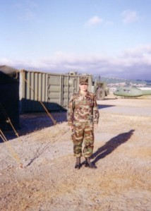 Training in the Army Reserve, pre-9/11