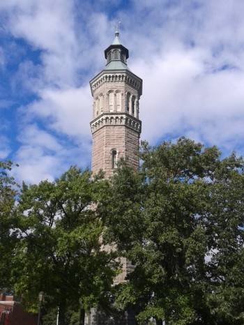 The High Bridge water tower at 172nd Street