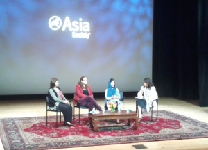 Panel discussion at the Asia Society