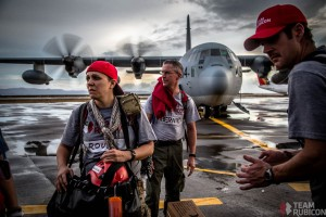 Arrival at Tacloban Airport. Photo by Kirk Jackson, Team Rubicon