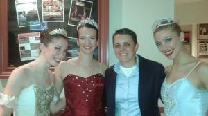Lisa Fitzgerald, Adrienne de la Fuente, (me), and Paige Grimard