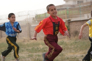 Kids being kids at an AFCECO orphanage. I wish I'd seen more happy, healthy kids like these during my time in Afghanistan--which is why AFCECO is so important to me.