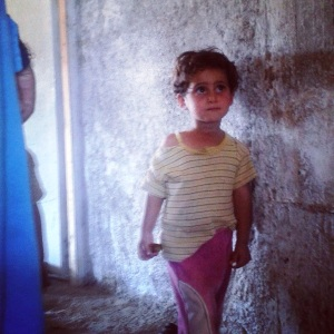 A Syrian refugee child I met in Turkey. What will the future hold for her and her family?