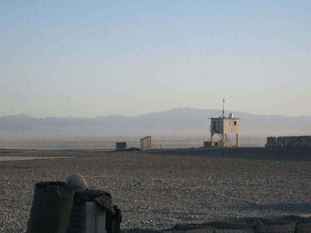 FOB Sharana in eastern Afghanistan