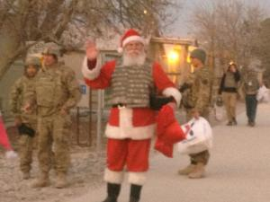 Christmas 2012 at Bagram Airfield, Afghanistan. Photo by a great #frontlinecivilian, F. Aponte.