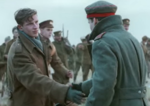 Video dramatization of the 1914 Christmas Truce